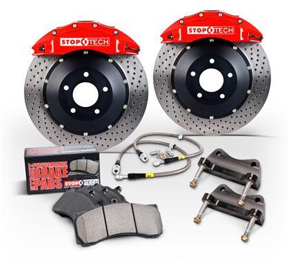 Lexus IS300 00-05 Drill Slot Brake Disc Rotors FRONT