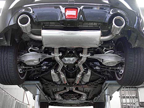 STAINLESS RACING X//Y-PIPE//DOWNPIPE EXHAUST FOR 10-16 370Z Z34//G37 V36 VQ37 VHR