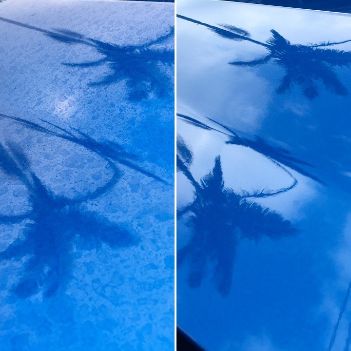 Waterspots Removal - Please let us know if it the whole car, windows, or a certain spot by contacting info@kenjigarage.com or 714-417-2698 for pricing.