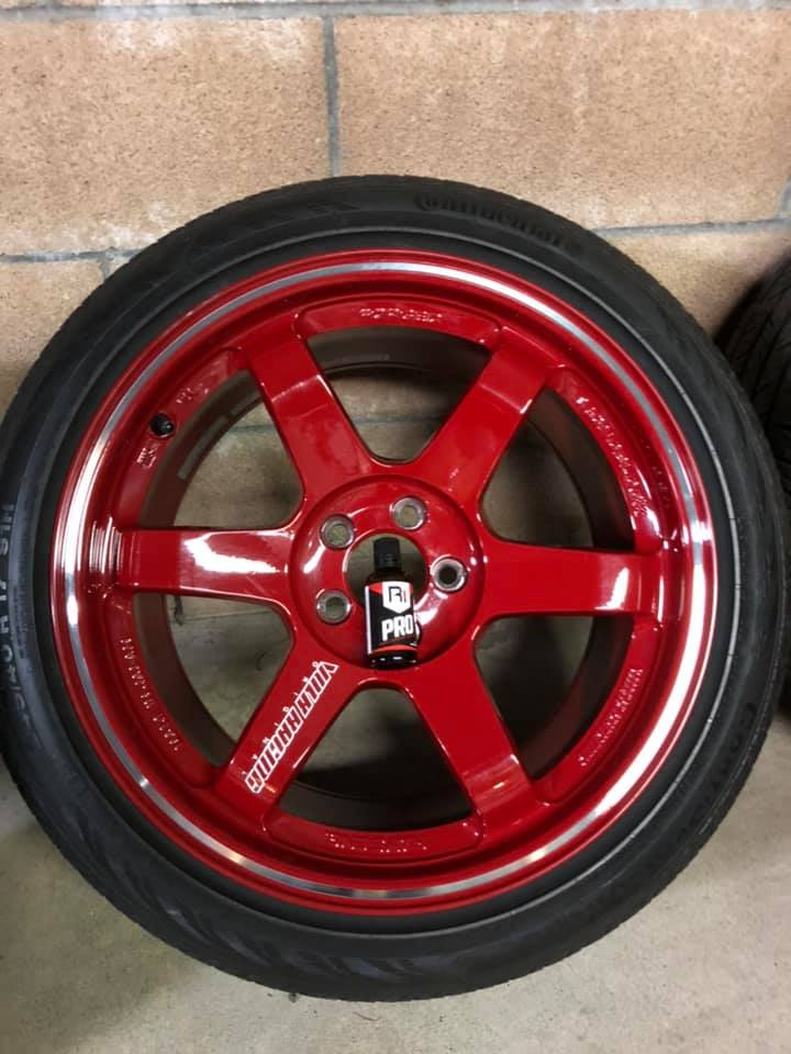 R1 PRO Ceramic Wheels Only - Remove & Reinstall Wheels Clean Inside & OutsideR1 PrepR1 Coating Ceramic Inside & Outside of WheelRevivePricing: $200 for 4 wheels