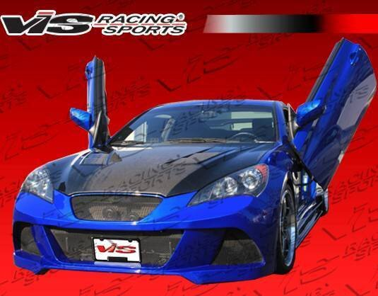Turbo XS License Plate Relocation Kit For Hyundai 10-14 Genesis Coupe