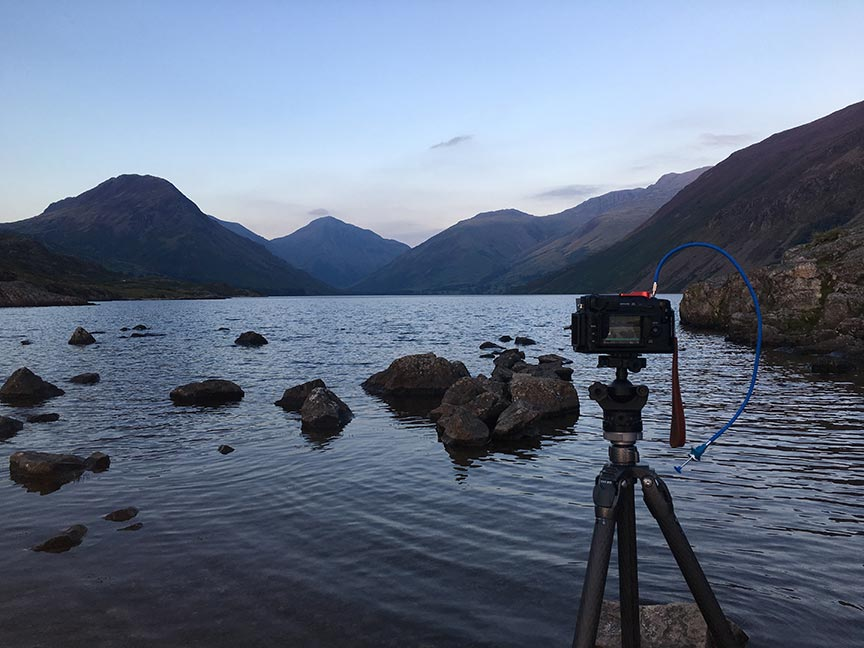 Sunset on Wast Water. Well sort of....