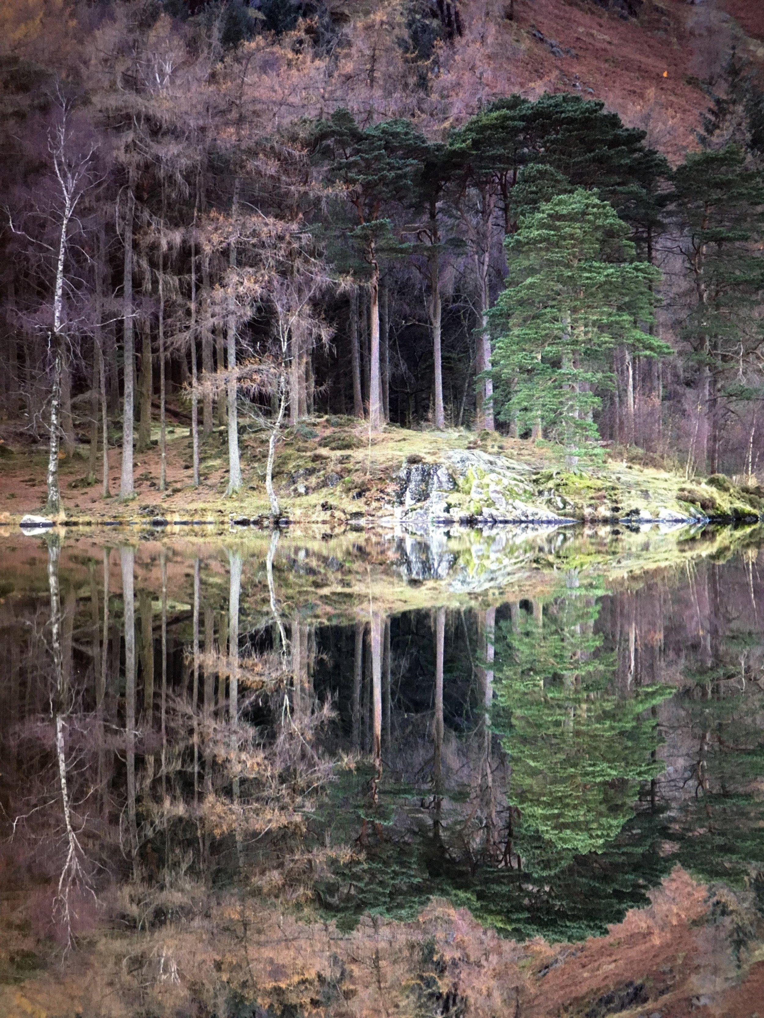 Blea Tarn Reflections. Screen shot from Lightroom