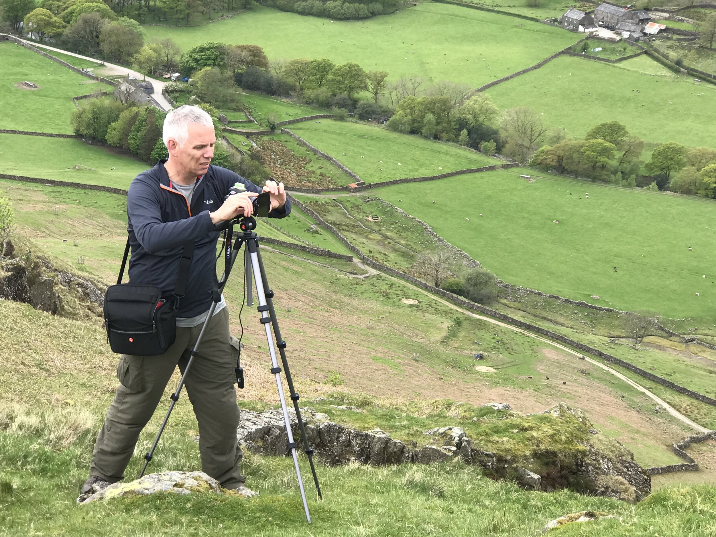 Bob above the Esk valley