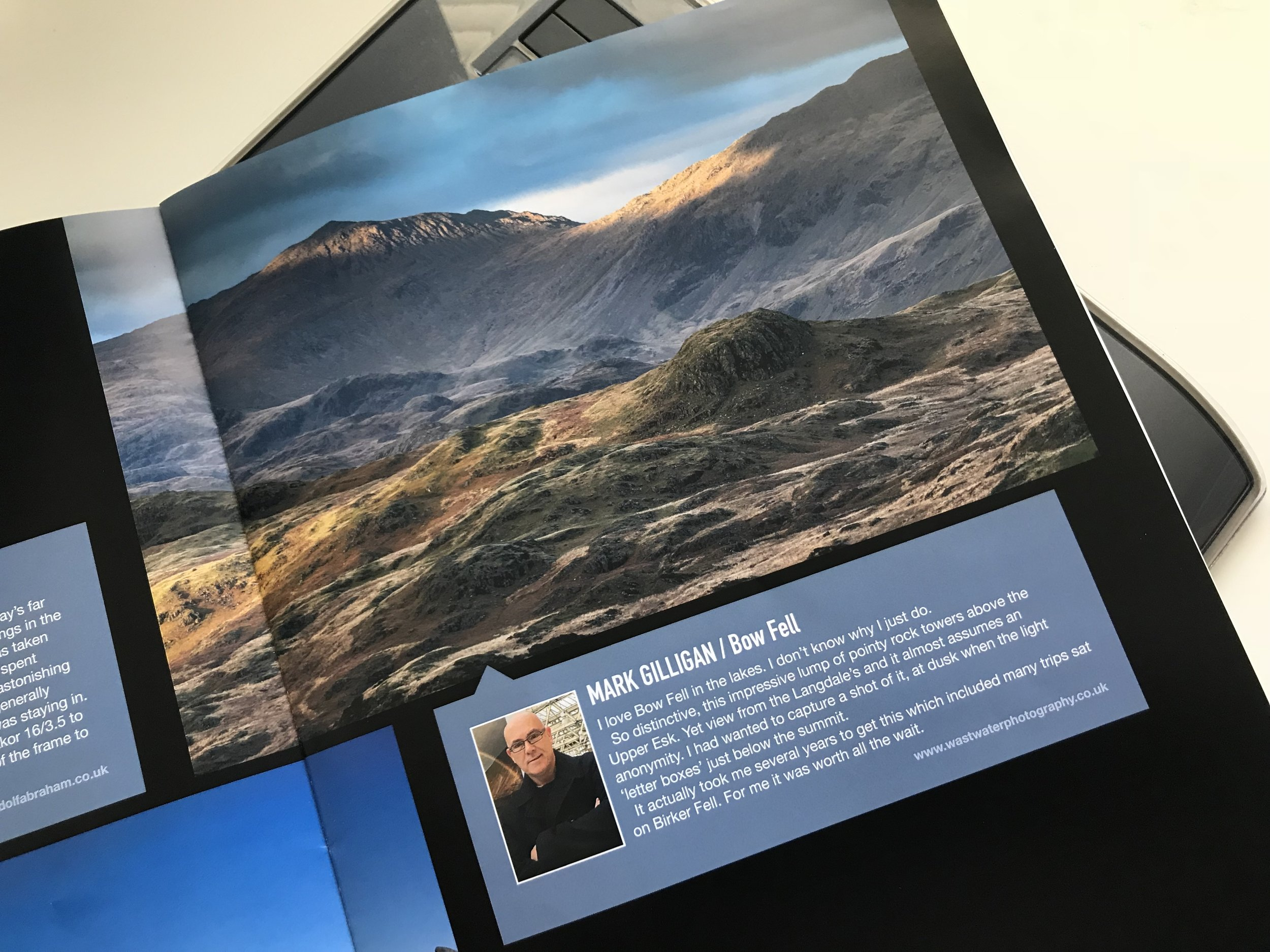 Bow Fell in OWPG magazine 'Outdoor Focus'