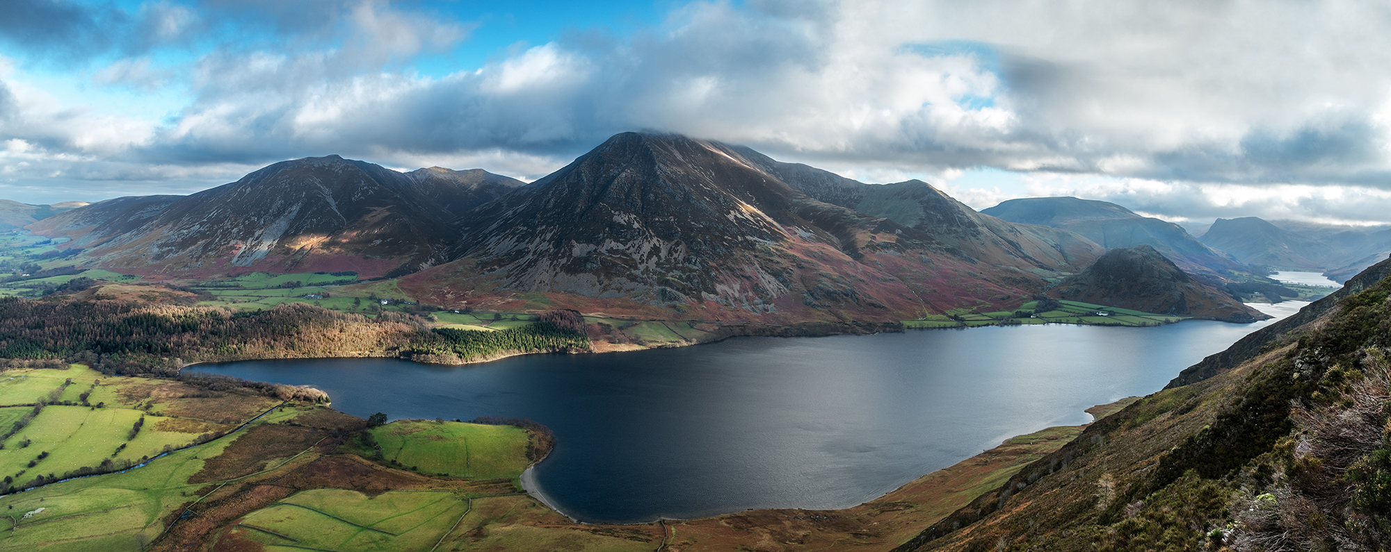 Crummock Water from Mellbreak
