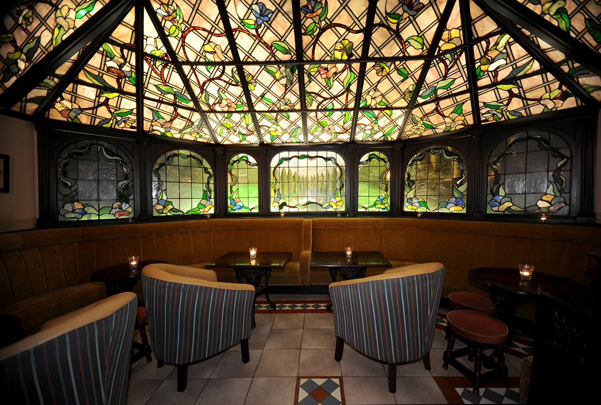 5 Madigans Middle Abbey Street (Interior Stained Glass) ©2015 Mick Langan 001.jpg