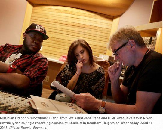 Detroit Free Press Image taken at Studio A, Dearborn