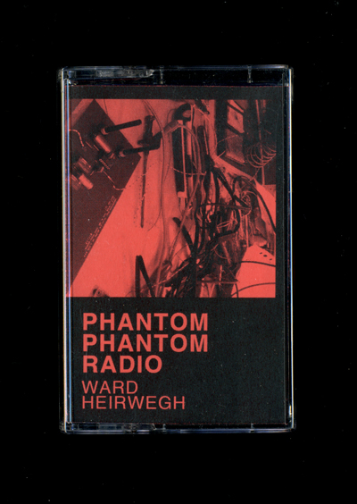 WARD HERIWEGH  Phantom Phantom Radio - C40  Ward Heirwegh (1982) graduated in 2007 as a master in typography at the Sint Lucas academy in Ghent, Belgium. He then started working as a graphic designer at the Brussels based design studio Base Design. After 2 years working there he started his independent practice as a graphic designer and art director, mailing focussing on cultural clients expressing an interest in editorial design. So far he worked for Annemie Verbeke, S.M.A.K., Bozar, Tim Van Laere Gallery, batard Festival,…  Next to his studio he also founded an experimental publication platform called Sleeperhold Publications. Sleeperhold Publications is a research-based, ephemeral platform for artist publications and functions as a valid excuse to experiment with the creation of content, different media and ways of distributing,… So far SHP released a photobook, a silkscreen posterset, a deck of gaming cards, a collection of short stories and several vinyl records. There are no fixed methodologies in dealing with creation and, at its best, an entirely different tactic will be applied to every SHP number. Sleeperhold has so far worked with Ryan Gander, Daniel Eatock, Åbäke, Eric Yahnker, Jason Fulford, Beni Bischof, David Horvitz, Peter Sutherland, Moon Duo and Tropic of Cancer, amongst others. Next to these outputs Ward is also giving lectures about his design and research work. So far he was a guest at Libros Mutantes in Madrid, the Copeland Book Market in London, Future Anecdotes in Istanbul. +  Ward Heirwegh