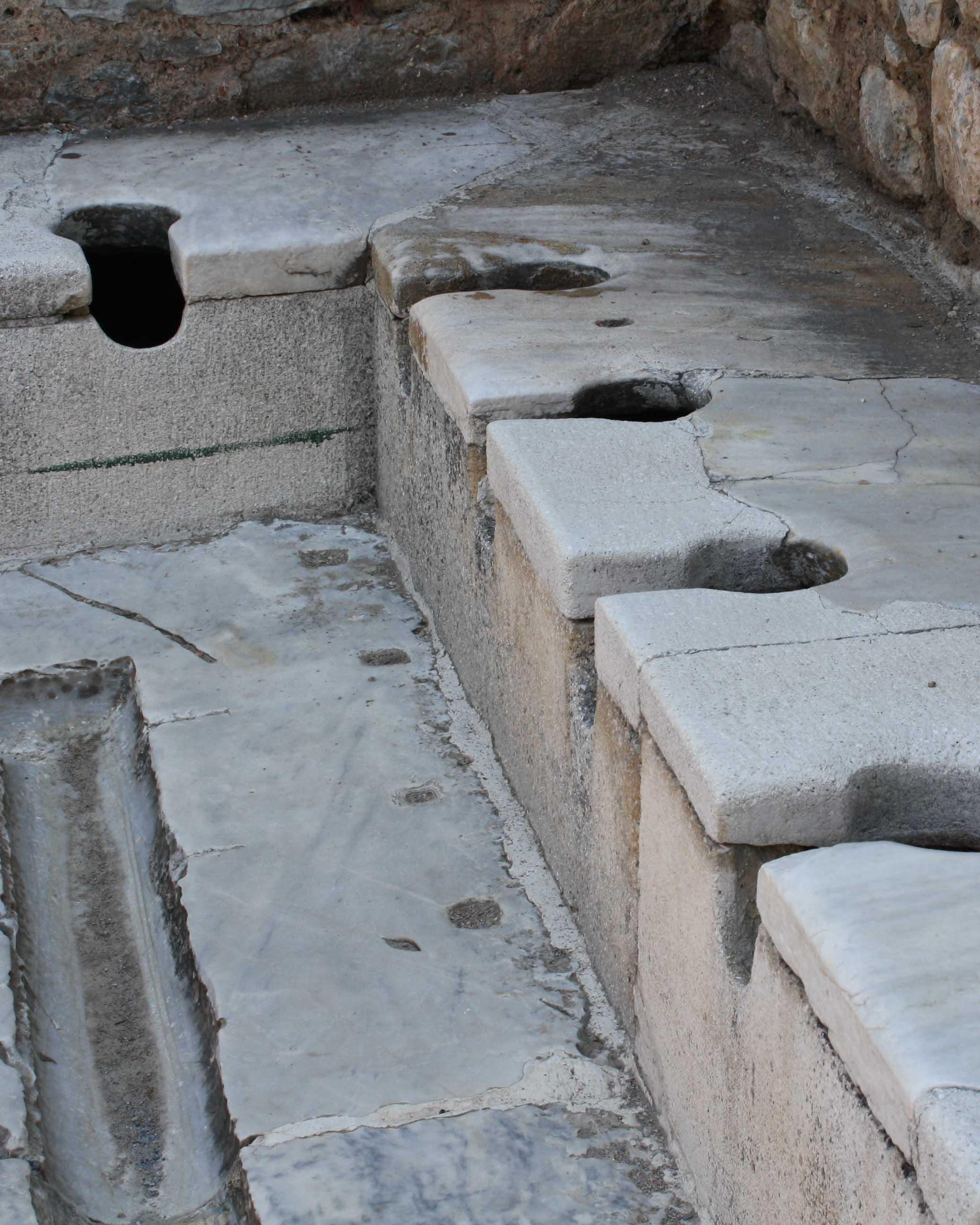 Photo: Ali Mert Özgün /Photography Tour Guide - Public toilets (latrines) of Ephesus