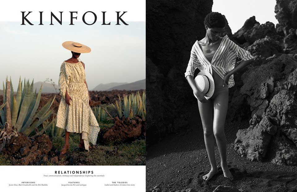 Our SS17 Gobi Burgundy featured in  Kinfolk issue 24  in the Deep Shadows editorial styled by Rose Forde.