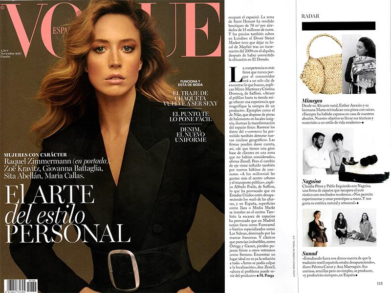 """Under """"Radar"""" on Vogue Spain"""
