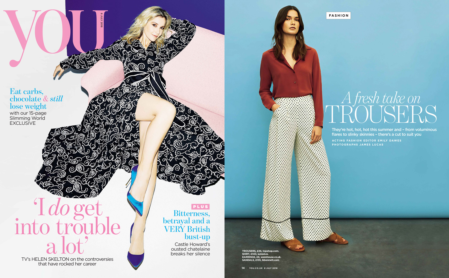 Sunad's AW18 Nambung Terracotta featured in You Magazine