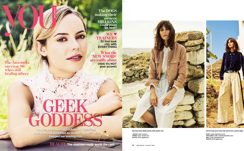 Sunad's AW18 Uluru Nude featured in You Magazine