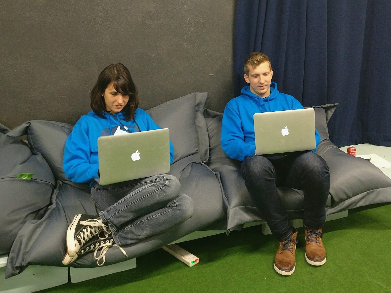 Hacking pros, Silvia and Jacek