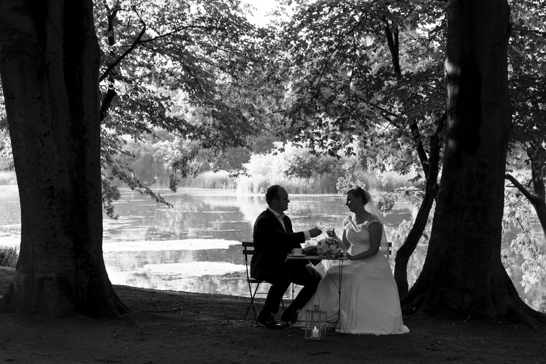 W cieniu drzew… - Ślub Ewy i Jacka