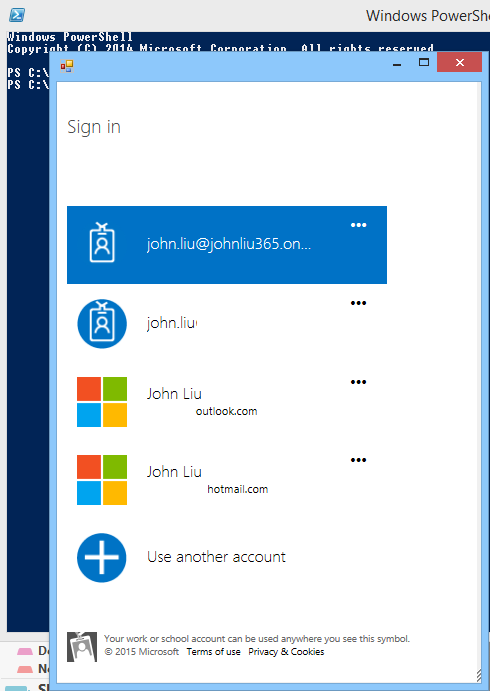 Posting to Office 365 OneNote via PowerShell — John Liu  NET