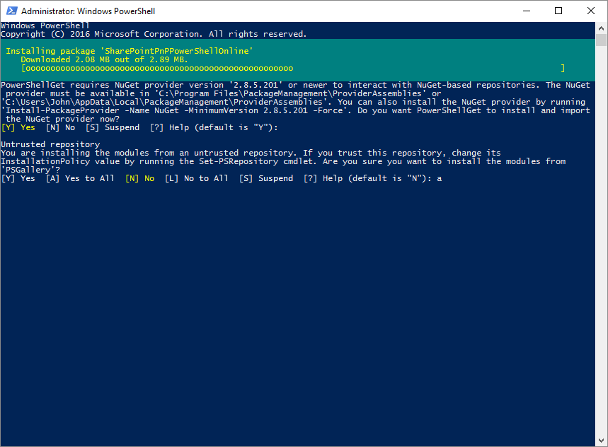 Build your PnP Site Provisioning with PowerShell in Azure