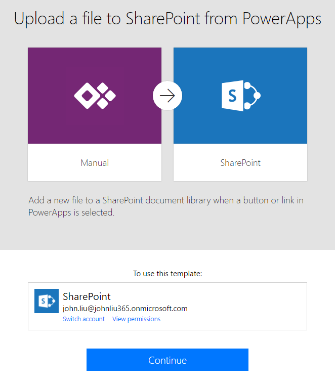 Taking a picture with PowerApps and sending to SharePoint