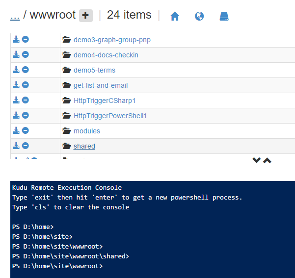 Reusing functions in PowerShell AzureFunctions — John Liu  NET