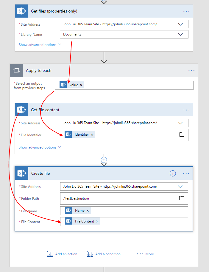Serverless Parallelism in Microsoft Flow and SharePoint