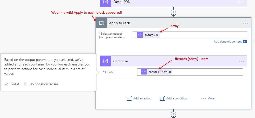 A Thesis on the Parse JSON action in Microsoft Flow — John
