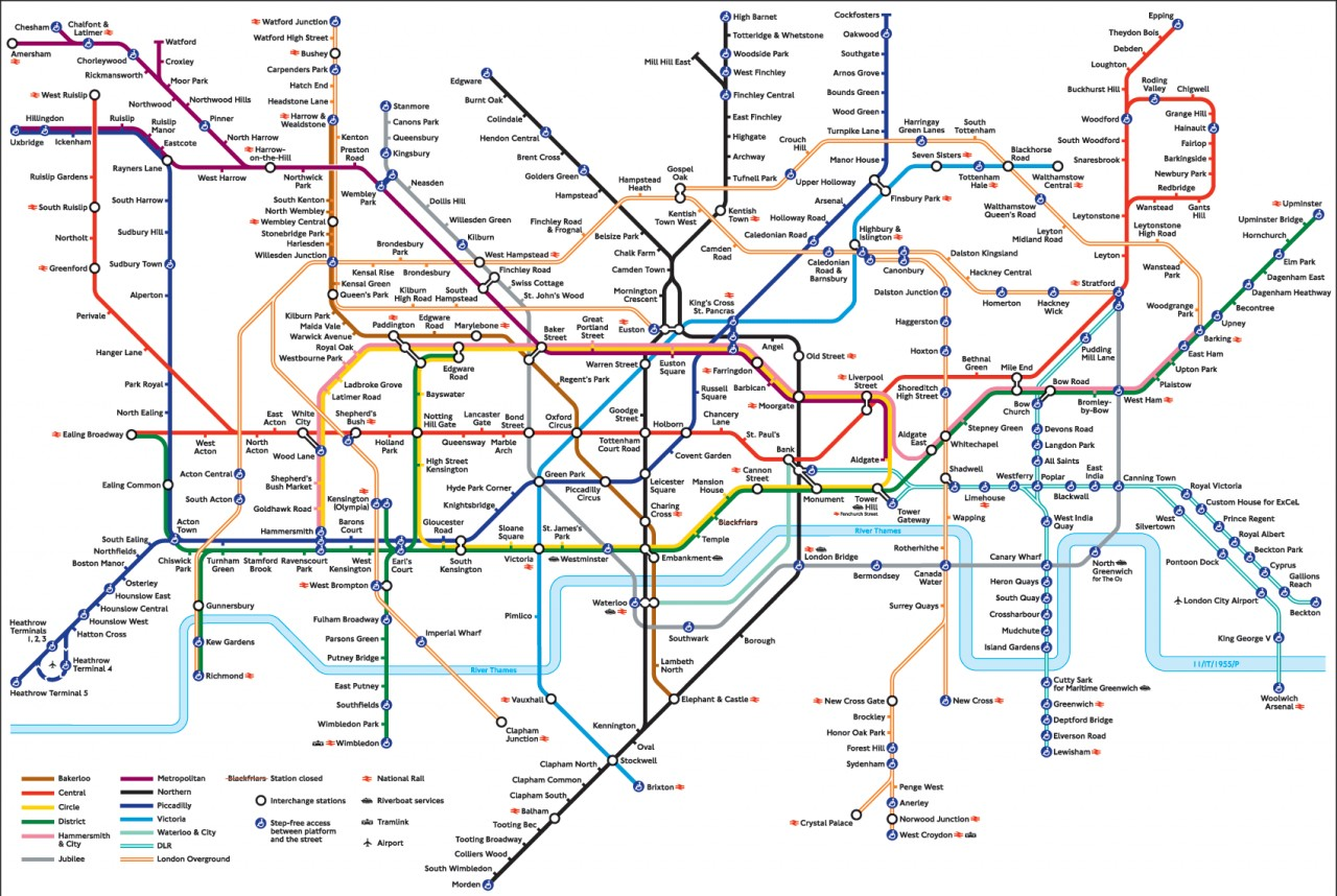 This is a picture of London underground. The FLOWS IN YOUR ORG LOOKS LIKE THIS.