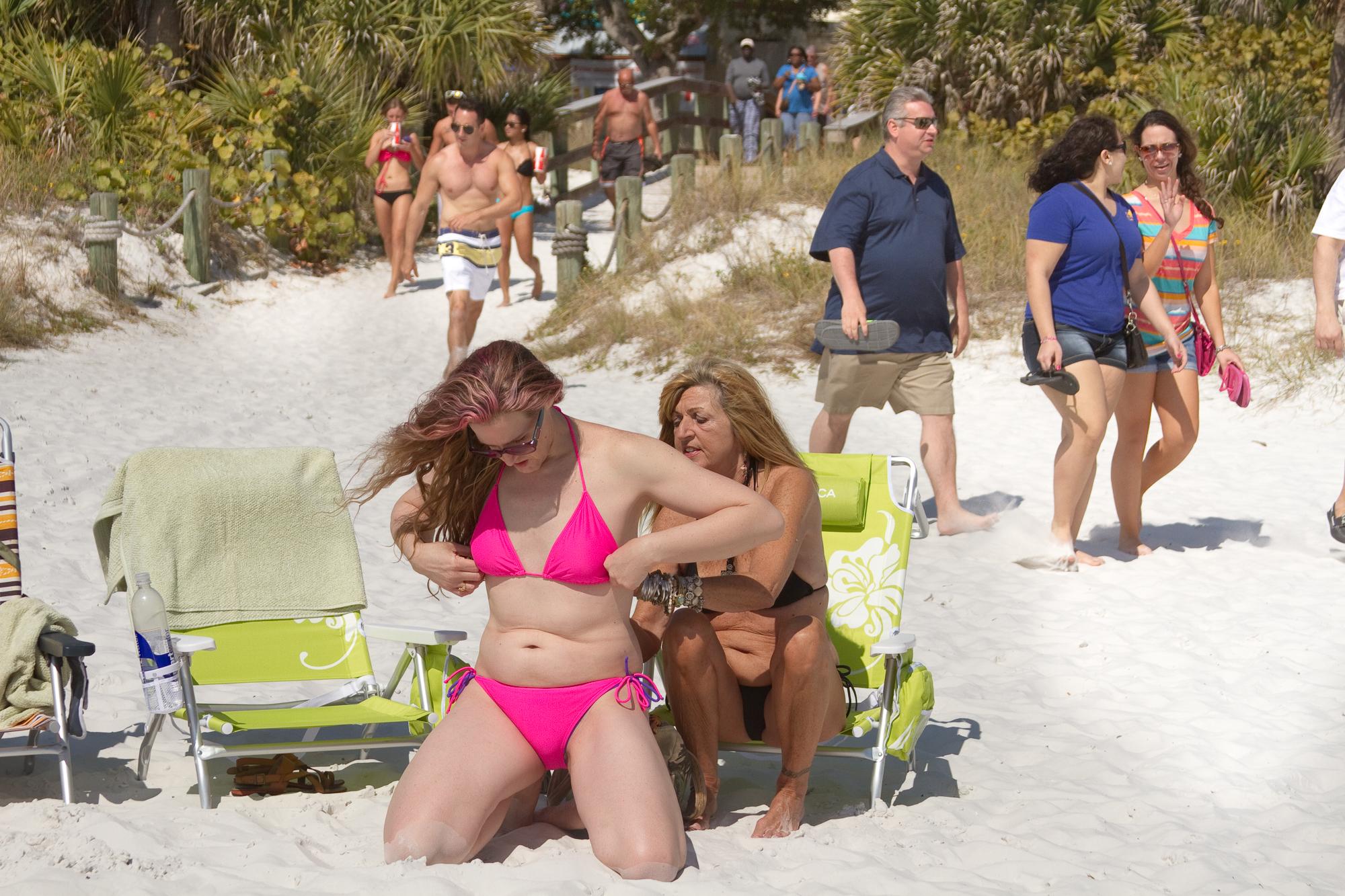 Lorelei, in the Florida sun / 2013