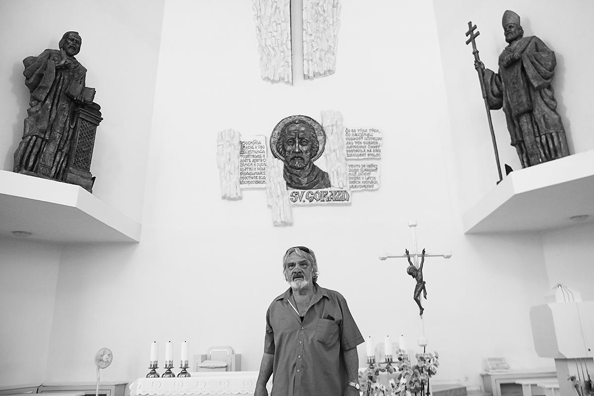 Emil Venkov in Vrbove, 2014