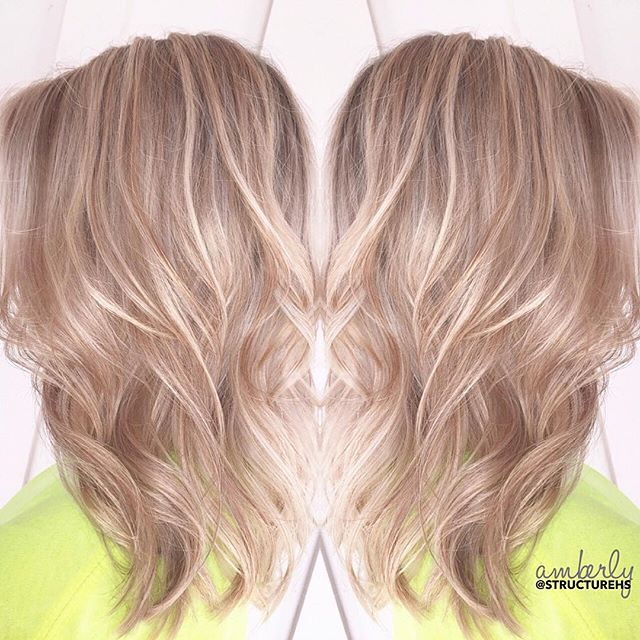 Bright Blended B L O N D E by SHS Stylist, Amberly || 💛✨ #structurehs #blondehair #livedinlook