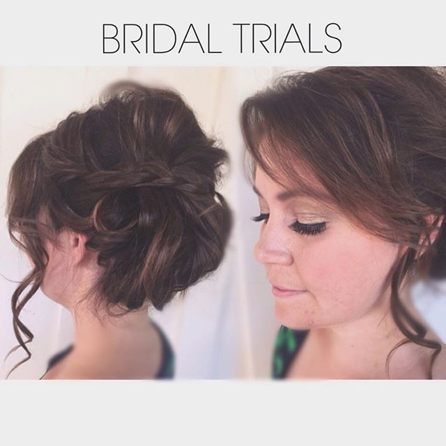 Bridal Trials are essential for many reasons: • Provides opportunity to meet your stylist prior to wedding day • Time to try different ideas and see what actually works or looks best • Gives Bride & stylist a plan- most time efficient while getting ready on the day of • Gives bride peace of mind that she will not only look beautiful, but FEEL beautiful This bridal hair, airbrush makeup and lashes are brought to you by Amberly { @amberlyanne210 } . #bridalhair #airbrushmakeup #lashes #northGAweddings #smartbride #structurehs #wetravel