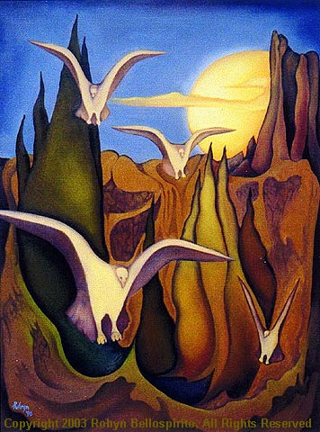 """White Birds - Moon Rising"""
