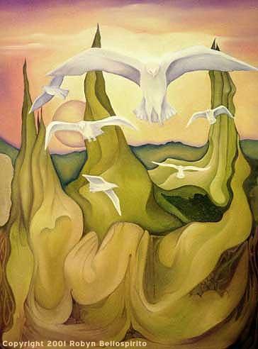 """White Birds - Sun Down"""