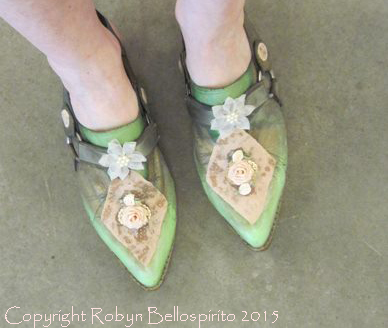Shoes Painted by Robyn