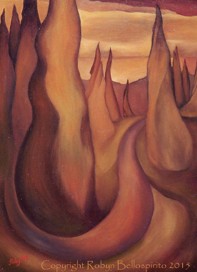 """Rolling Autumn Hills"""