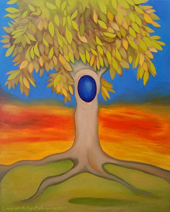 """Sun Blushed Wishing Tree"""
