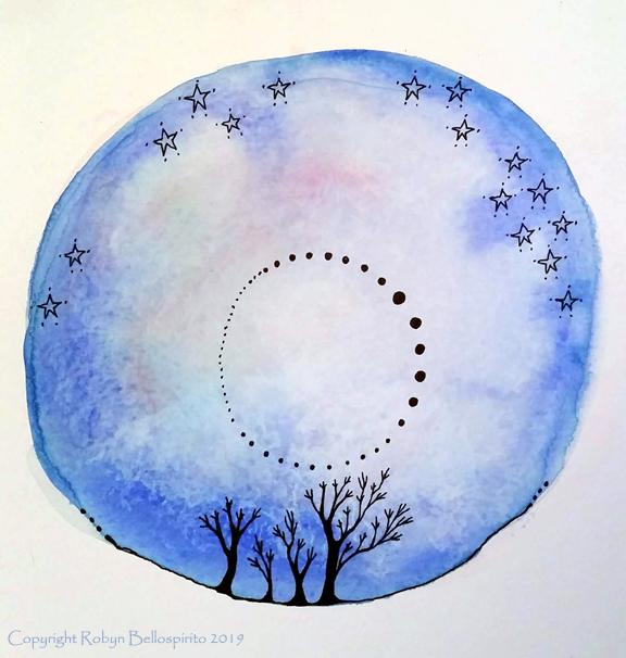 Big Blue Sphere