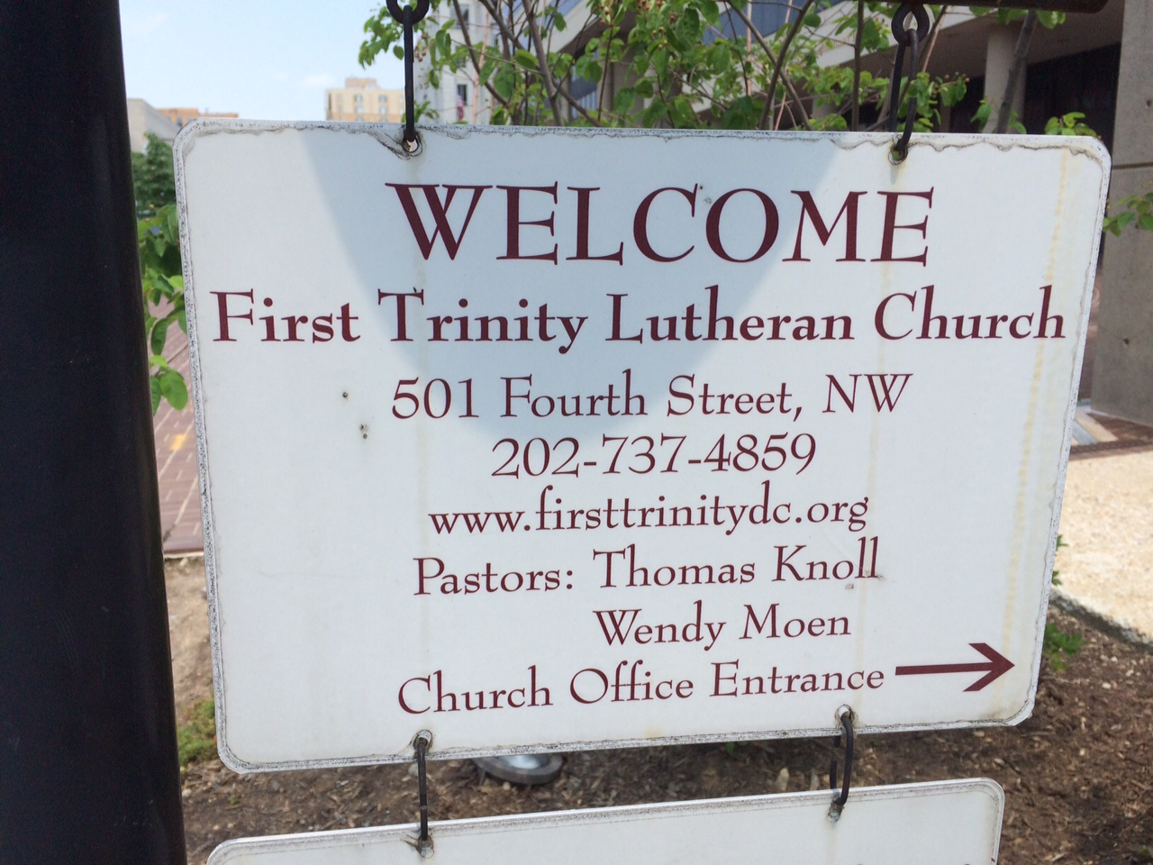 First Trinity Lutheran Church Hours