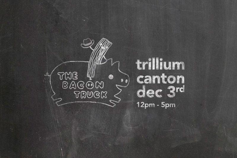 Bacon Truck at Trillium Canton Dec 3 2016