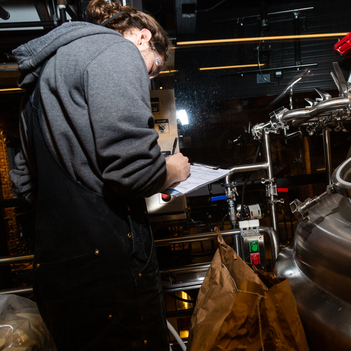Ryan Gillette on our Fort Point brewhouse