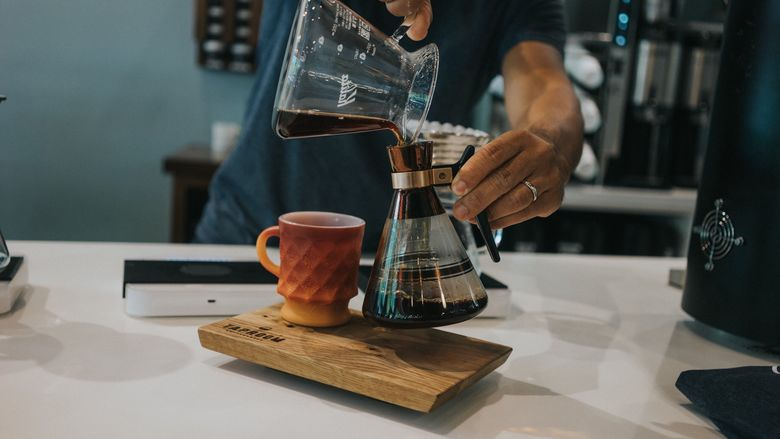 Taproom Coffee (Courtesy Outlander Photography)