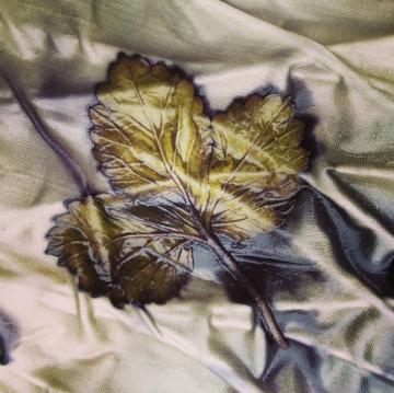 Strawberry Ecoprint by Julie Pishny Artist