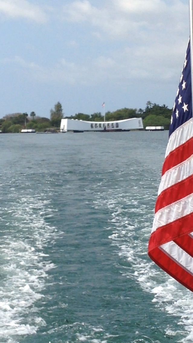USS Arizona Memorial // Pearl Harbor, Oahu, Hawaii