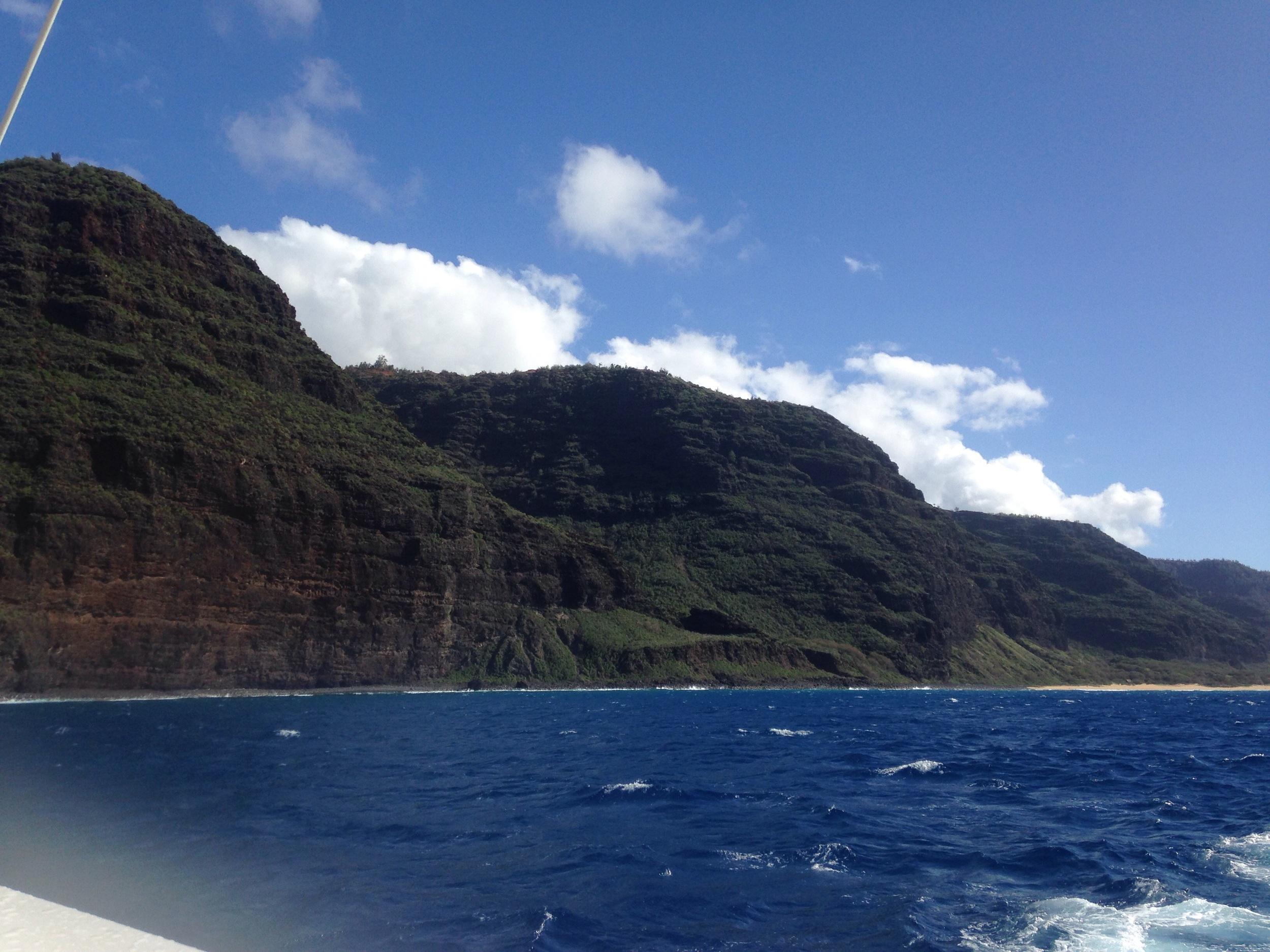 Catamaran, NaPali Coast // Kaua'i Hawaii