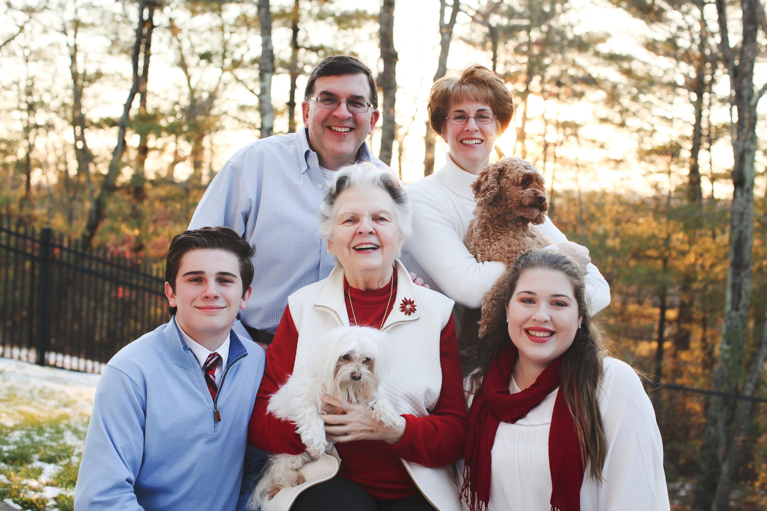 WINTER COLOR FAMILIES