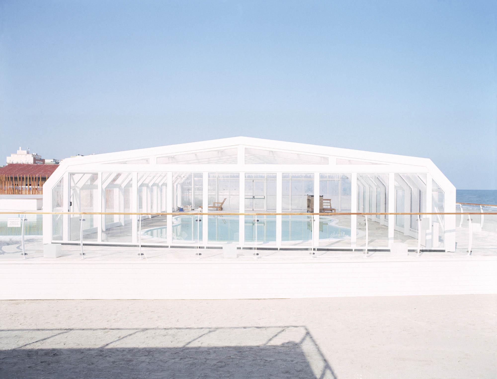 'Indoor Swimming-Pool, Milano Marittima', Archival pigment print