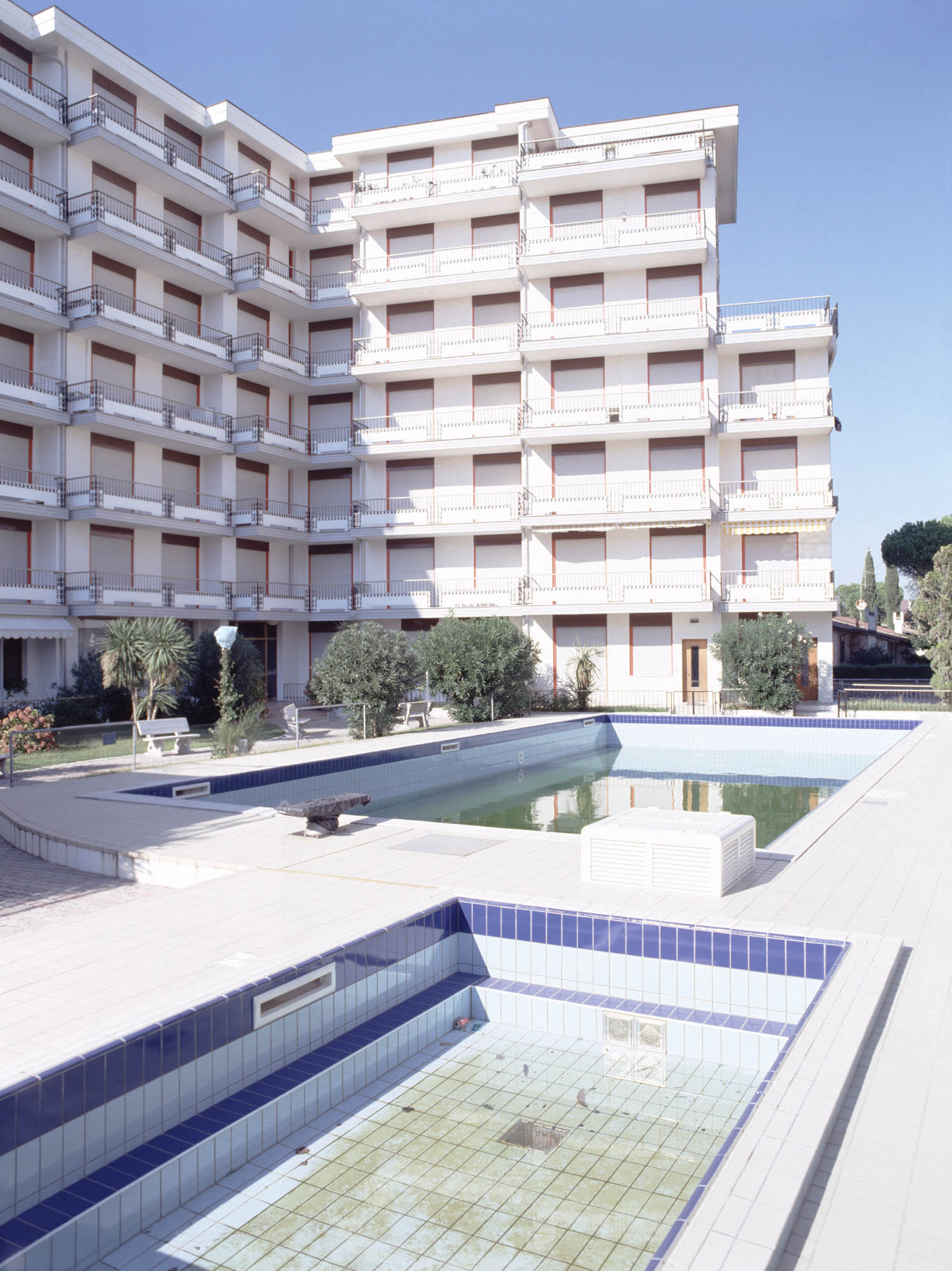 'Hotel, Porto Santa Margherita', Archival pigment print