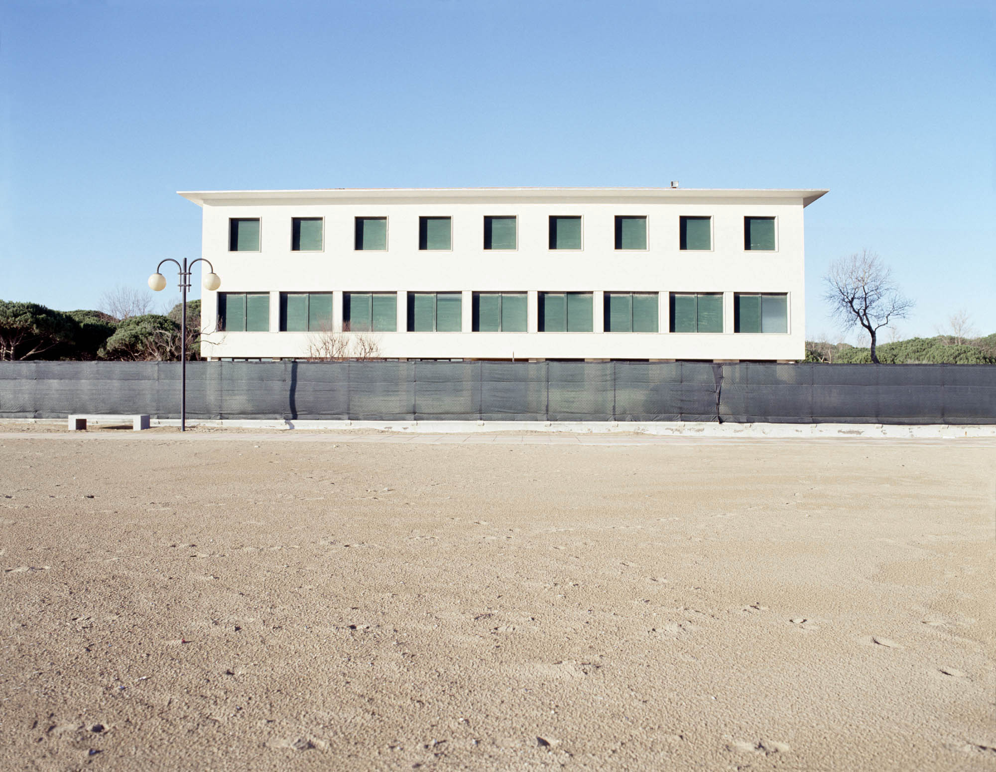 'Seaside Holiday camp, Jesolo', Archival pigment print