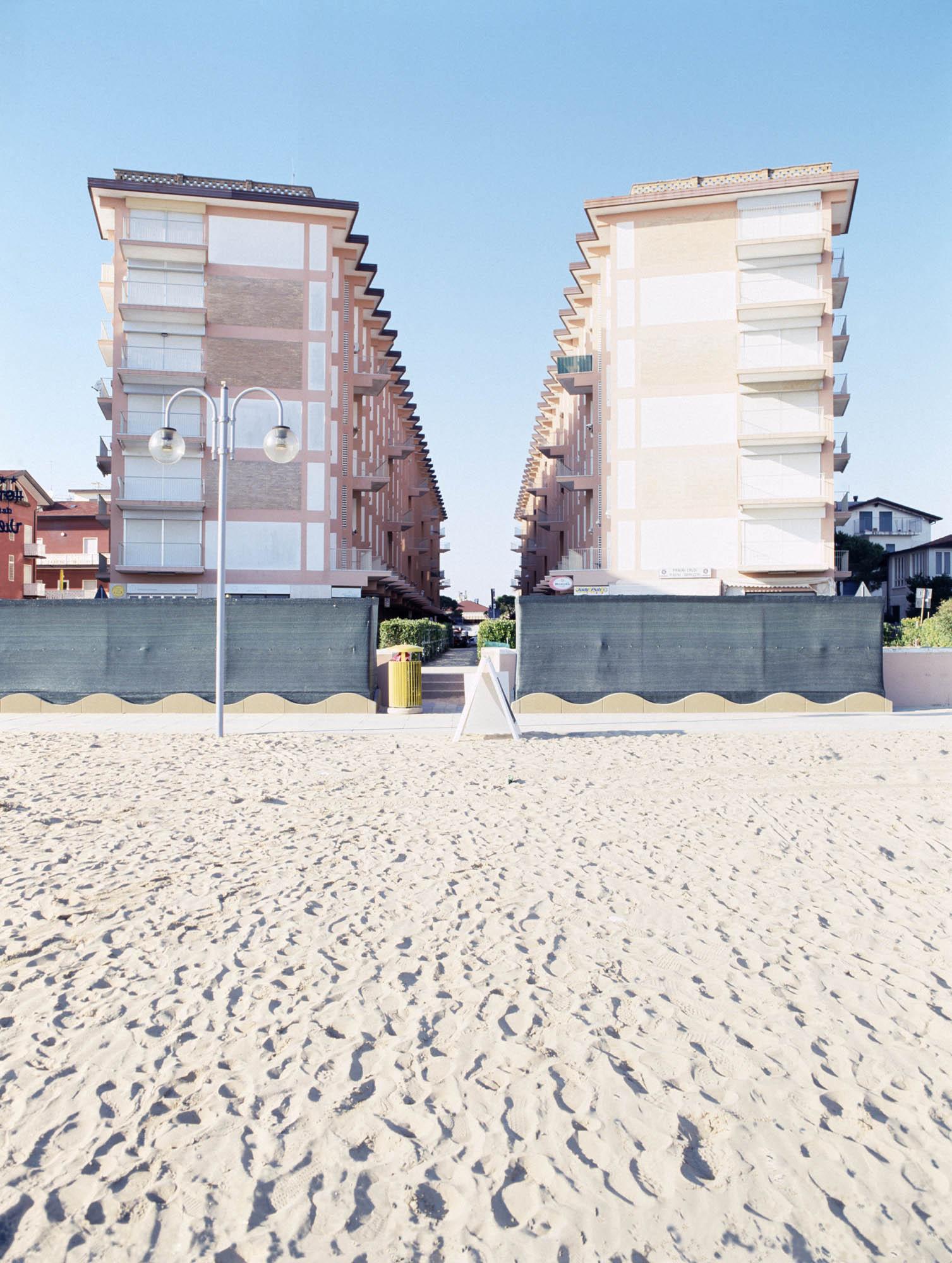 'Twin Buildings, Jesolo', Archival pigment print