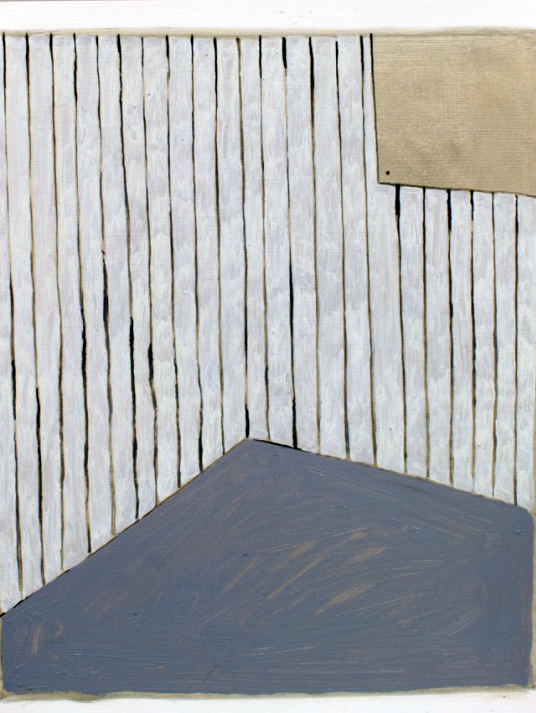 'Room II', Oil on paper, 35x25cm